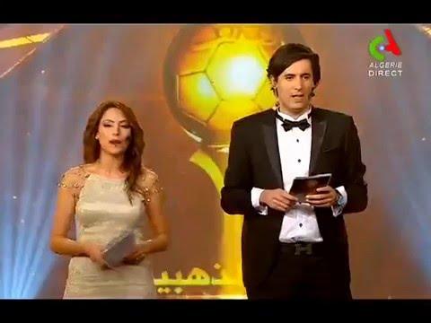 تكريم 'محمد أبو تريكة' في حفل مسابقة الكرة الذهبية الجزائرية