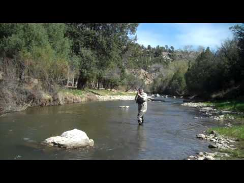Fly fishing with nymphs on the pecos river early may 2011 for Pecos river fishing