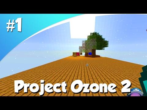 SKY BLOCK MET MODS! (Minecraft Project Ozone 2 #1)