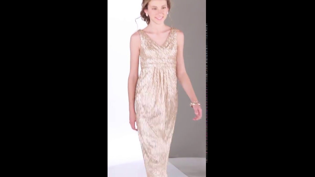 83ceb3b277f Bridesmaid Dresses - J4012 Sorella Vita - YouTube