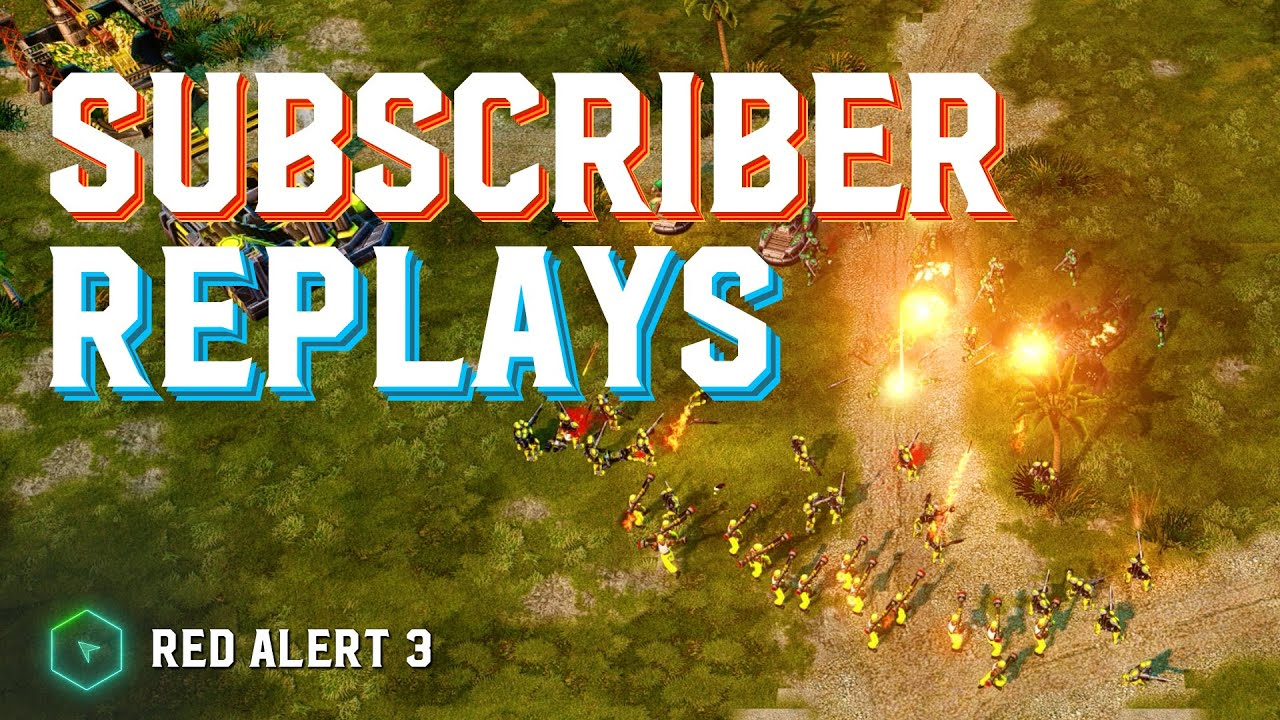 Casting Subscriber Replays (Live Stream VOD) - Red Alert 3