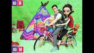 ЕДЕТ ЕДЕТ ПО ДОРОГЕ. КАТЯ И МАКС ВЕСЕЛАЯ СЕМЕЙКА #Мультики с куклами #Барби новые серии