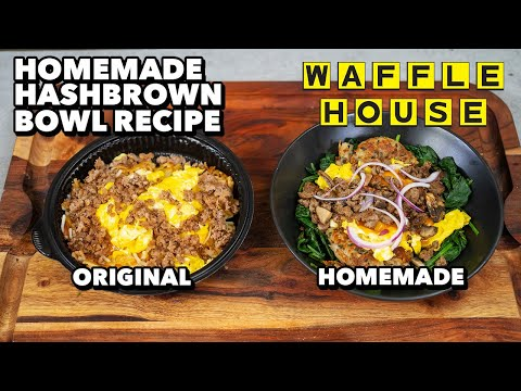 Reduced Calorie Waffle House Hashbrown Bowl