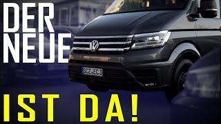 Edelweiss VW Crafter - unser neuer Transporter