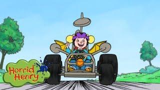 Horrid Henry - Go Kart Race   Cartoons For Children   Horrid Henry Episodes   HFFE