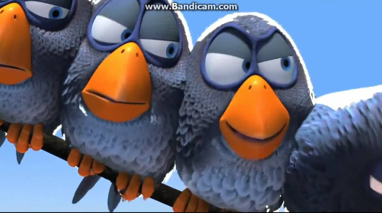 картинки птички из мультиков