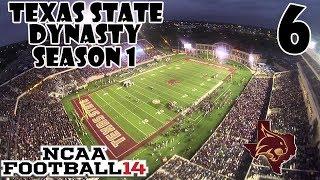 NCAA Football 14 Dynasty - Texas State - Ep 6 (S1)