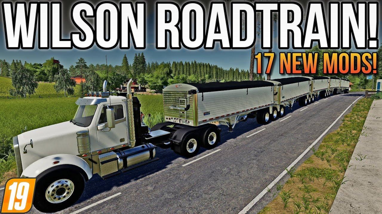 46 78 MB) WILSON ROADTRAIN, MERCURY FARMS UPDATE! | 17 New Mods For