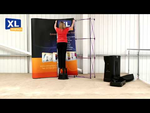 Pop up Display Stands | How to set up your 3x3 Pop up stand