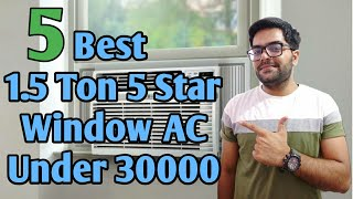 Best 1.5 Ton Window AC with 5 Star Energy Rating Under 30000 !! Best Window AC Under 30000 !! ☃️☃️