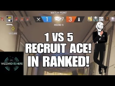 Rainbow Six Siege - RECRUIT ACE! Credit: VIP3RSH0T313