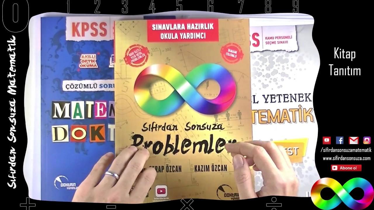 KPSS Matematik Kitap Tavsiye ve Tanıtım (Yorum yapanlar arasından 5 kişiye çekilişle hediye kitap)