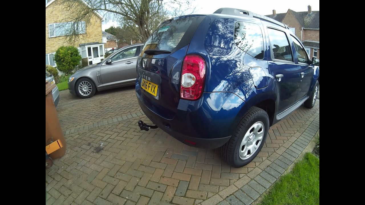 maxresdefault fitting a witter towbar to a 2016 dacia duster 4x4 youtube witter towbar wiring diagram at creativeand.co