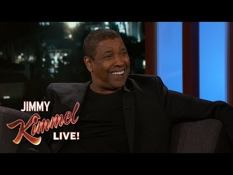 Jimmy Kimmel vs. Denzel Washington Doesn't Use Apps