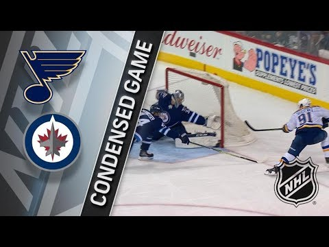 St. Louis Blues vs Winnipeg Jets – Feb. 09, 2018 | Game Highlights | NHL 2017/18. Обзор