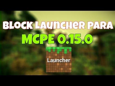 download block launcher minecraft pe 0.15.0