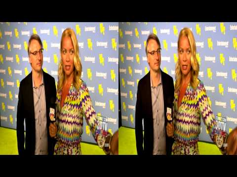 with Laurie Holden and Glen Mazzara The Walking Dead  Comic Con 3DTV