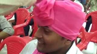 Repeat youtube video How to drape Marathi Pheta (Maharastrian Turban)