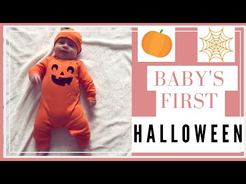 DAY IN THE LIFE: BABY'S FIRST HALLOWEEN