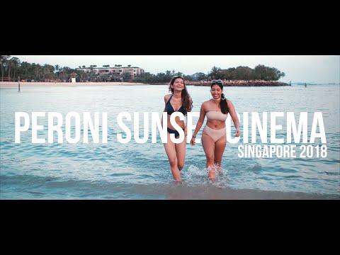 Peroni Sunset Cinema - Sentosa Island (Official 4k Aftermovie)