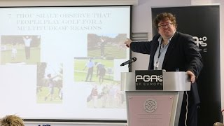 The Coaching Experience - Dr Richard Bailey
