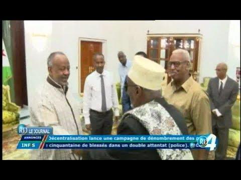Télé Djibouti Chaine Youtube : JT Somali du 03/12/2017