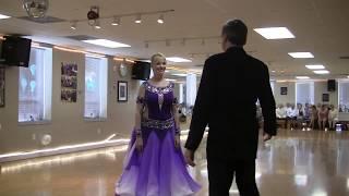 Jeannette & Serguei Foxtrot 04-30-17 -- Dance Studio Lioudmila Showcase