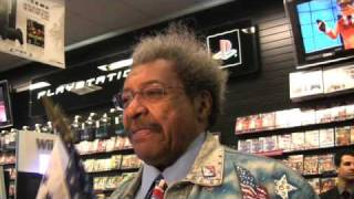 Don King Boxing Event