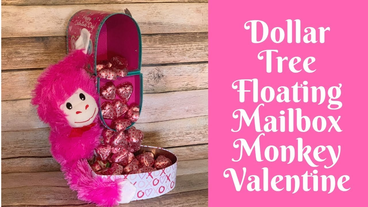 Dollar Tree Valentine S Day Crafts Dollar Tree Floating Mailbox