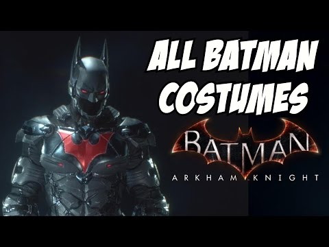 All Batman Arkham Knight Costumes - ANIME CLASSIC SERIES JUSTICE LEAGUE 3000 FLASHPOINT