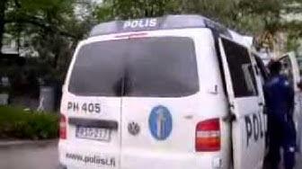 poliisi toimii lahden alatori lla