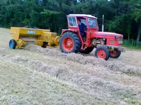 baling hay bamford super 58
