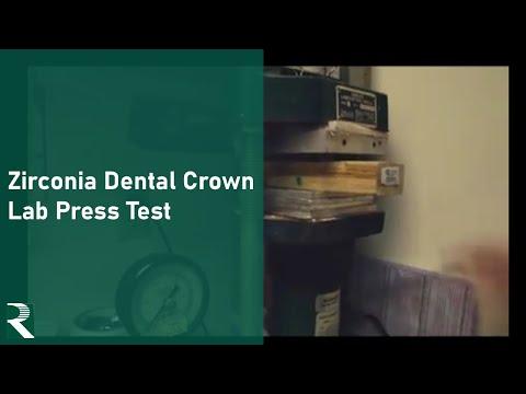 TLZ Zirconia Dental Crown - Lab Press Test.mp4