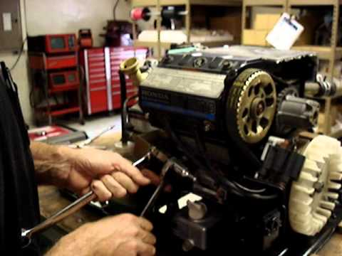 Honda EV6010 RV Generator Engine By Pinellas Power Products 12  YouTube