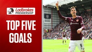 Top 5 Goals From Week 2 Including THAT Lafferty Volley | Pick Your Fav! | Ladbrokes Premiership