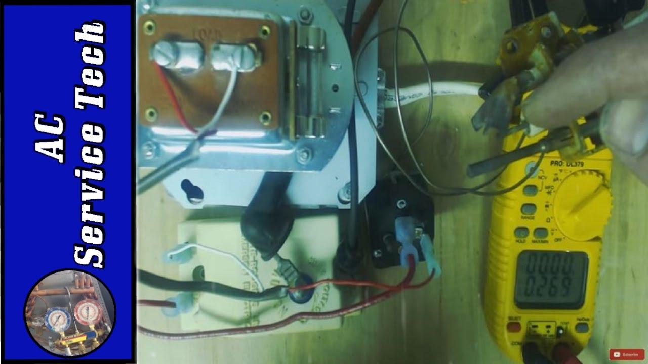 Gas Furnace Spark Ignition Troubleshooting- Mercury Flame Sensor ...