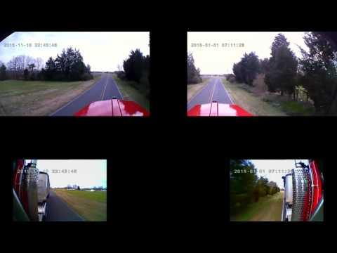 Falcon Eye Dash Cam With 4 Cameras