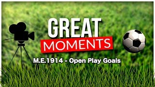 ME. 1914 Open Play Goals Football Manager 2019