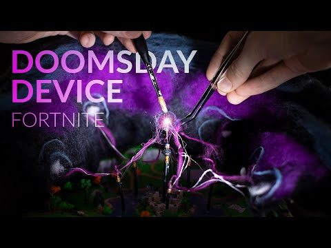 Making The DOOMSDAY DEVICE With Clay (Fortnite Battle Royale – Live Event)