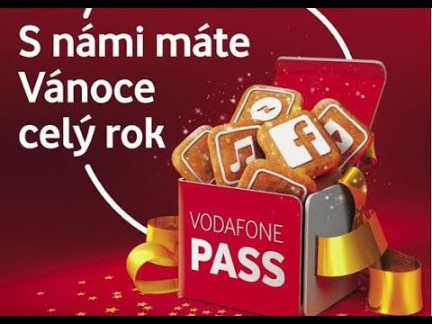 Vánoční dárek Vodafonu: 84 dnů bezplatného passy internetu na celý rok