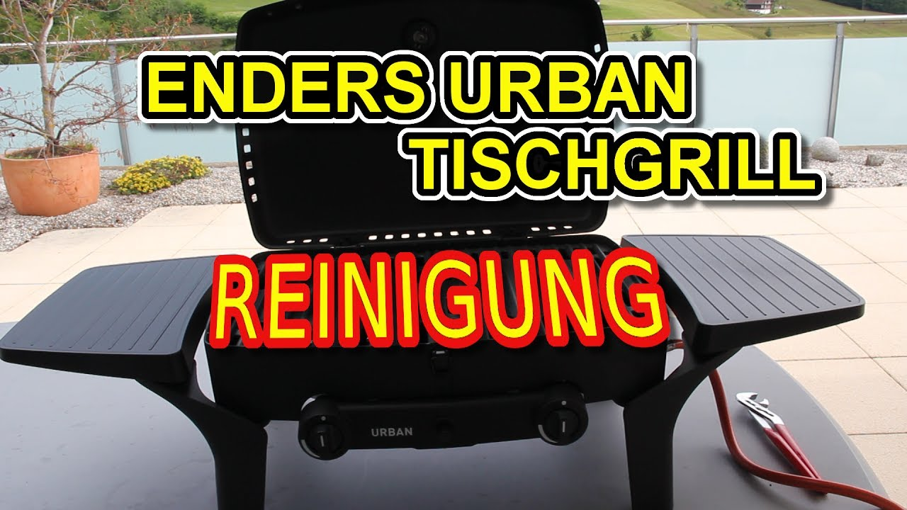 Enders Gasgrill Grillrost : 🔥💧reinigung enders urban tischgasgrill youtube