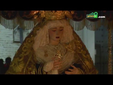 Gines vivió una espléndida Semana Santa, que celebró sus salidas procesionales con gran lucimiento