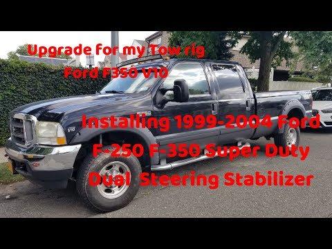 Installing Ford F-350 Super Duty Dual N3 Premium Steering Stabilizer