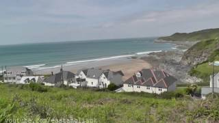 At Woolcombe Bay holiday park Twitchen House Devon Tour near Ilfracombe & walking to the beach P3