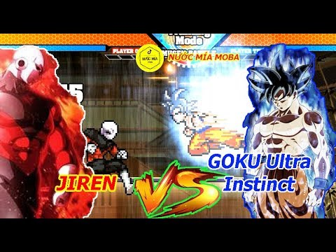 Goku Ultra Instinct VS Jiren - Anime Super Battle Stars XXV (1.5) Mugen 2019