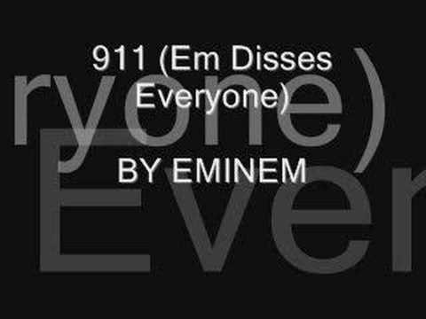 EMINEM  911 w Boo Yaa TRIBE & BReal