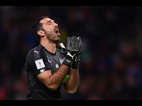 FOOTBALL WORLD CRIES WITH BUFFON AFTER HE RETIRES FROM ITALY DUTY