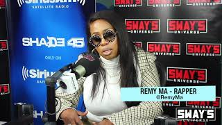 Remy Ma Talks Switching Managers Studio Sessions With Lil