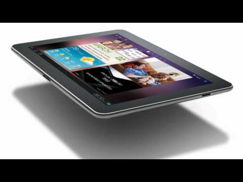 Samsung Galaxy Tab 8.9 and 10.1 First Look
