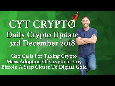 🔥iG20 Taxing Crypto 🔥Mass Adoption Of Crypto 2019 🔥BTC A Ste